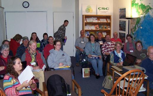 Classroom at Midwest Permaculture