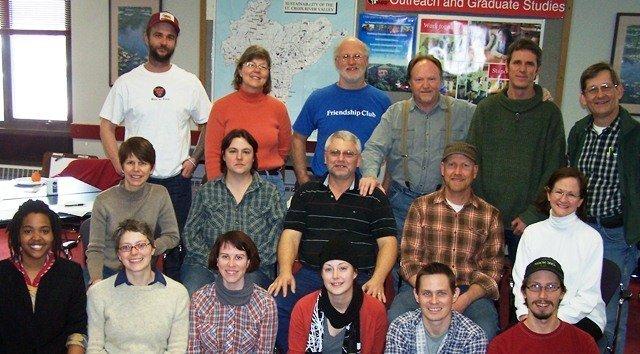 UWRF Permaculture Graduates 2011 UWRF Design Certificate Course