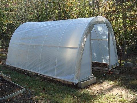 DIY hoop house/greenhouse